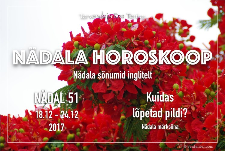 nädala horoskoop 51 2017