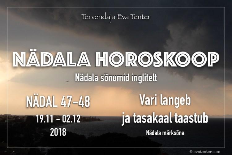 nädal 47 48 2018