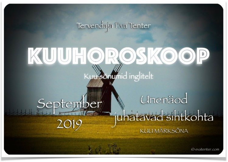 september 2019 horoskoop