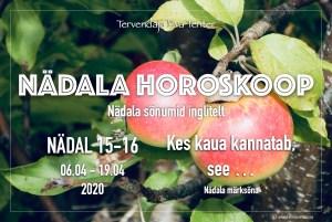 nädal 15-16, 2020