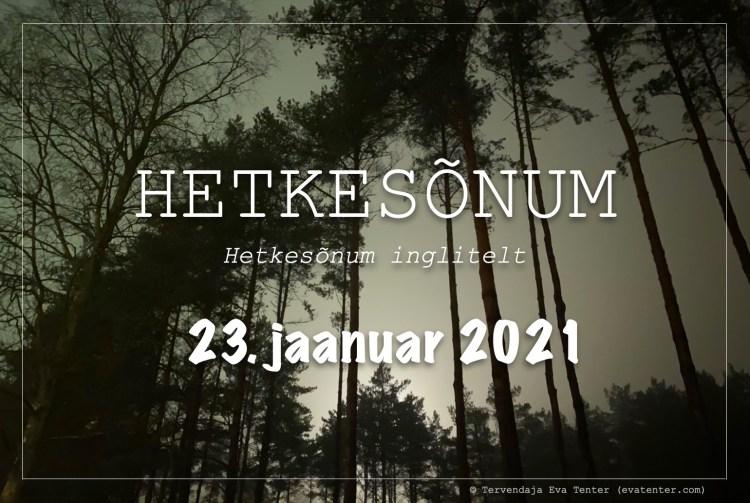 23. jaanuar