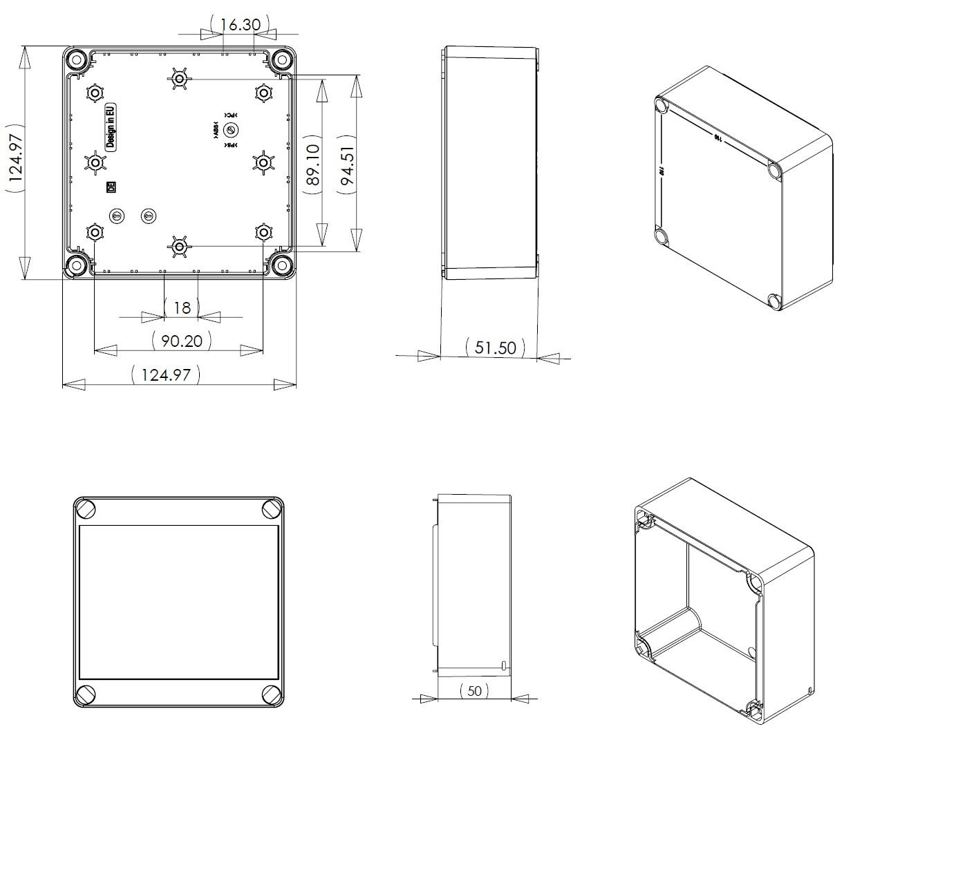 Dn13t Junction Box Dn Series Ip66 Enclosures