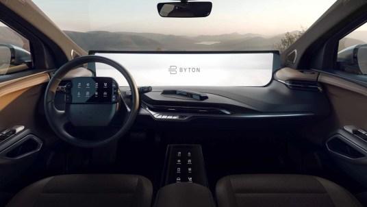 BYTON M-BYTE Interior