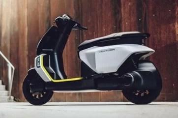 Husqvarna Vektorr Electric Scooter Based On Bajaj Chetak Revealed