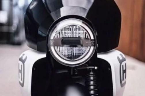 Husqvarna Vektorr Electric Scooter Based On Bajaj Chetak