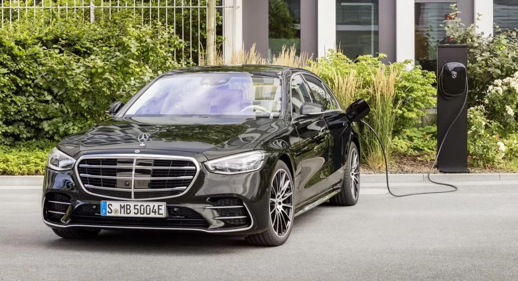 2024 Model of Mercedes S-Class Hybrid (facelift) Might Have Gen5 Battery