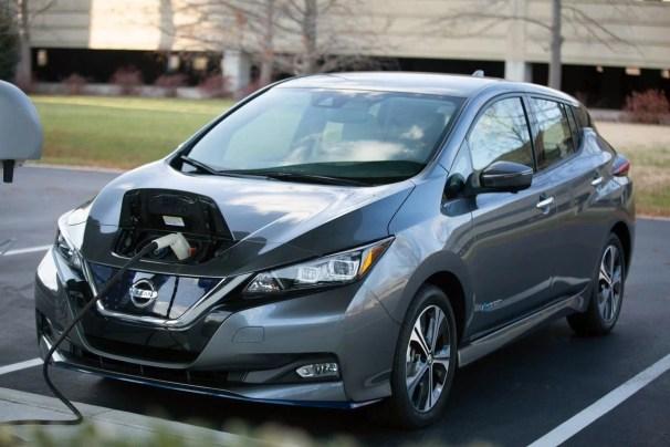 Nissan Leaf 2021 Charging