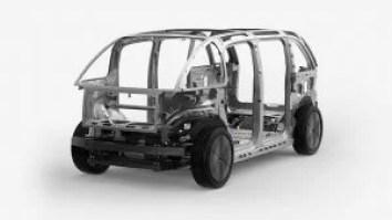 Canoo Van-engine