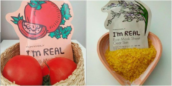 mascarillas I'M REAL de Tony Moly