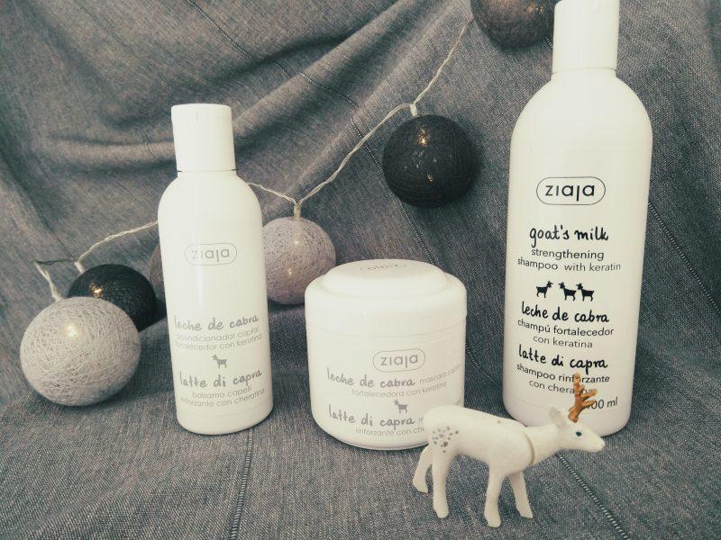 Línea capilar con leche de cabra ZIAJA Goat´s Milk
