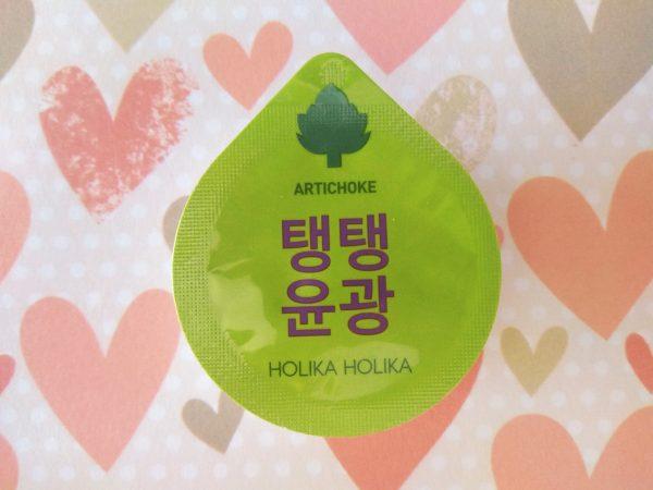 Holika Holika, mascarillas coreanas Superfood alcachofa