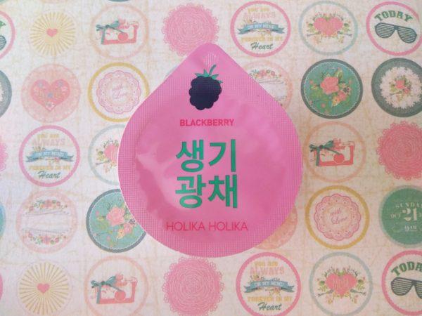 Holika Holika, mascarillas coreanas Superfood moras