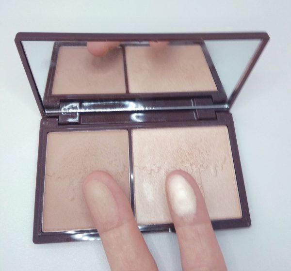 Swatches Bronze and Glow de I Heart Makeup