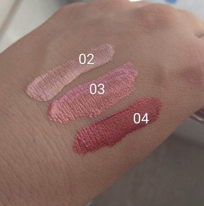 Shatch Melted Chrome labiales