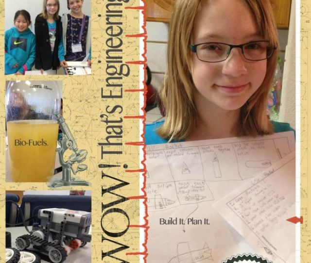My Daughter Was One Of An Estimated 400 Girls Who Will Participate In Two Science Based Workshops This Spring Designed Specifically For Girls
