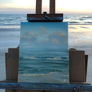 Original plein air painting from Florida