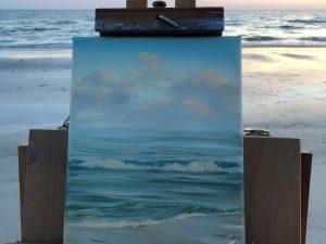 Original plein air painting from Florida