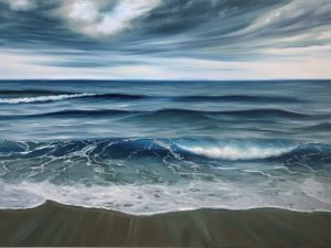 Stormy Ocean Painting - Since The Beginning of Time