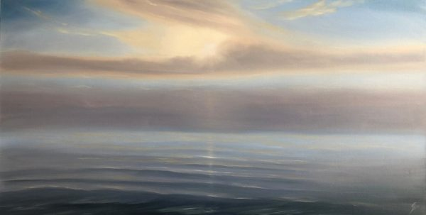 In Your Light- original sunset painting