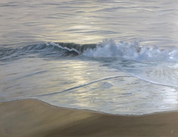Into The Light - original ocean waves painting