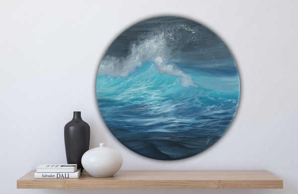 Riding The Tide -original ocean wave painting