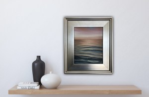 See You Tomorrow - original framed ocean painting