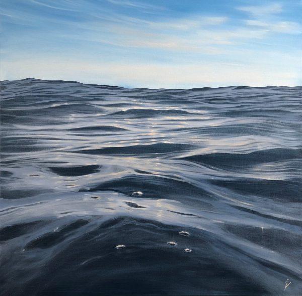 Original realistic contemporary seascape painting