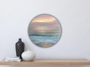 Sunset on the Gulf - Original realistic sunset painting