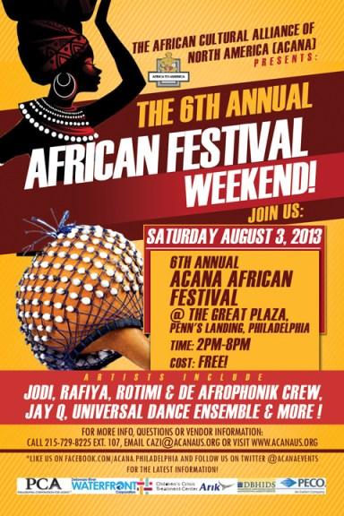 African Festival Weekend