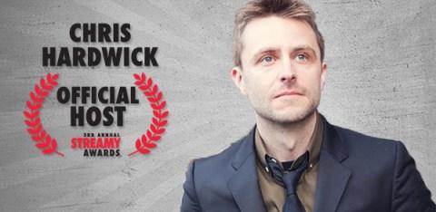 Chris Hardwick To Host Streamys