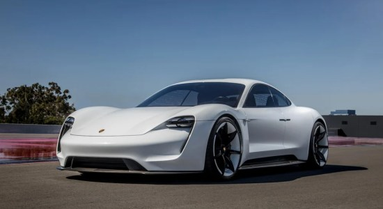 luxury electric cars Porsche Taycan