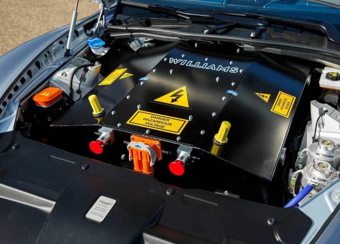 Aston Martin RapidE Engine Bay