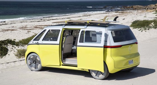 I.D. Buzz - upcoming electric cars