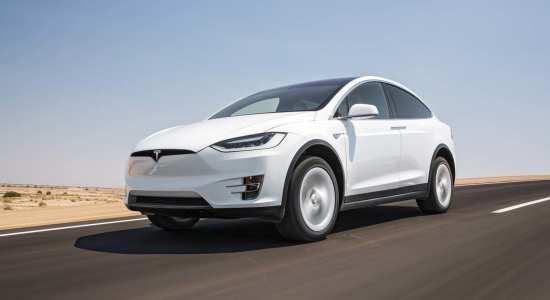 luxury electric cars Tesla Model X