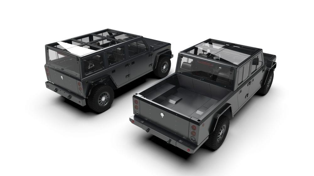 B2 electric pickup truck comparison