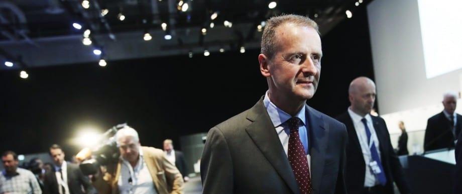 Volkswagen CEO emission regulations