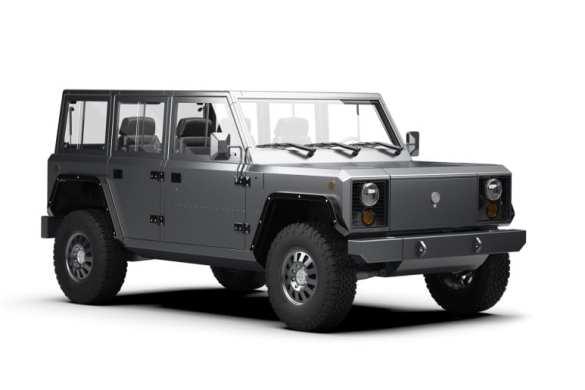 Bollinger Unveils B2 Electric Pickup Truck
