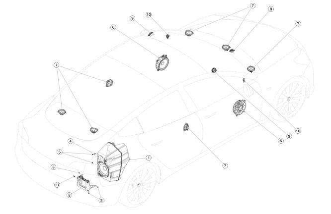 Tesla Model 3 Spotted With Speaker For New Electric Car Sound Rhevbite: Tesla Parts Catalog At Gmaili.net