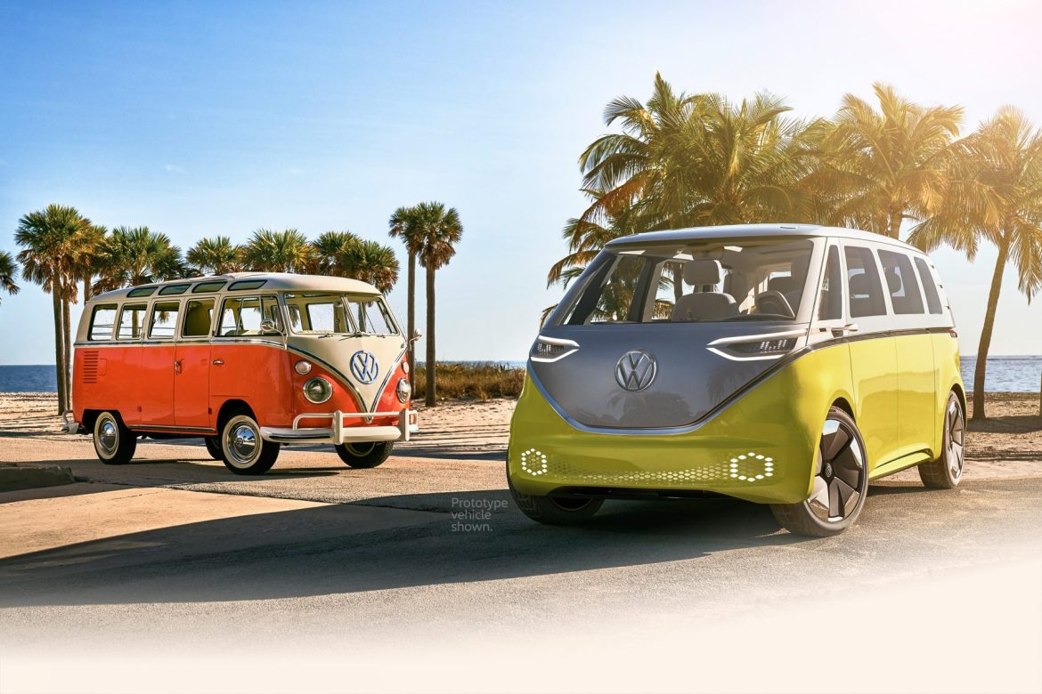 VW electric microbus
