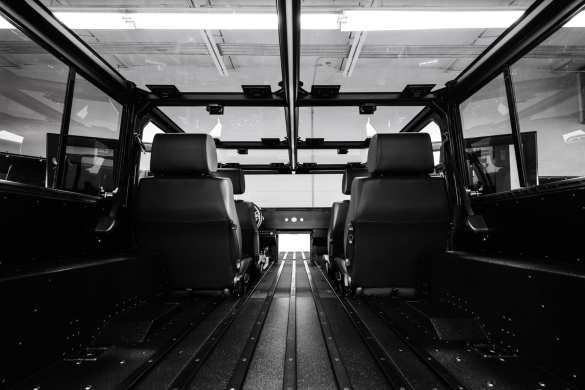 Bollinger B2 Interior