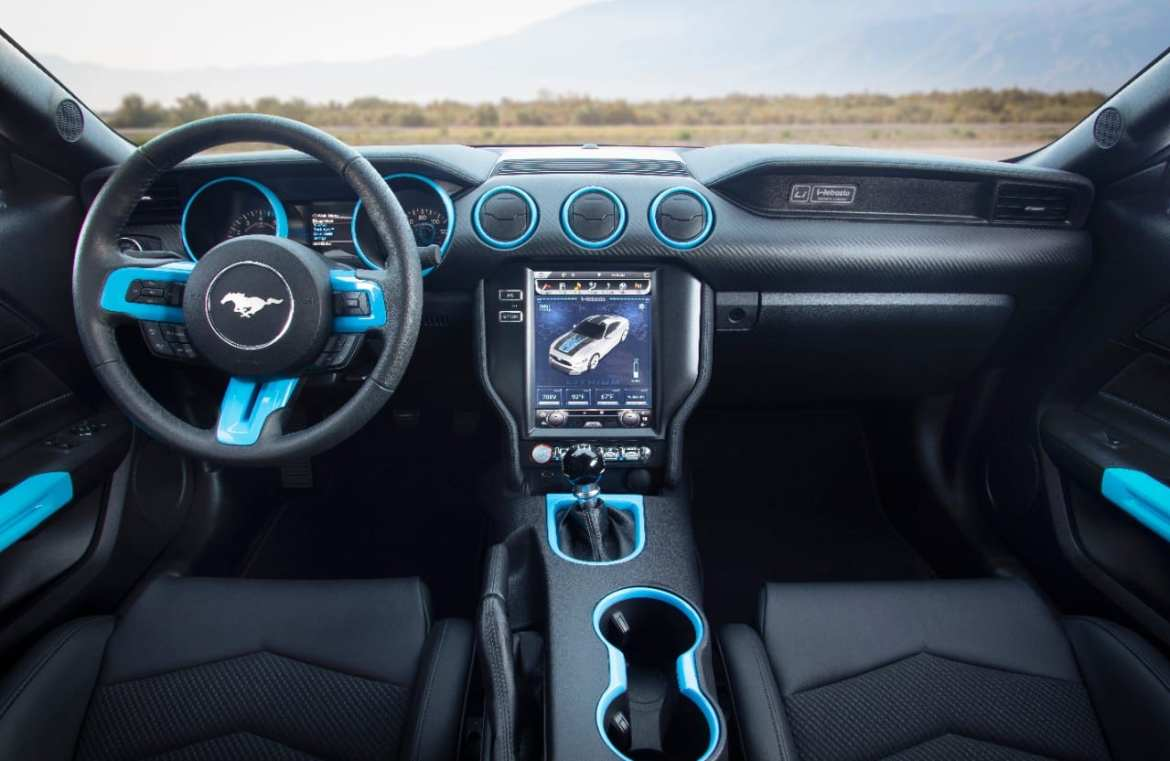 Electric Mustang Interior