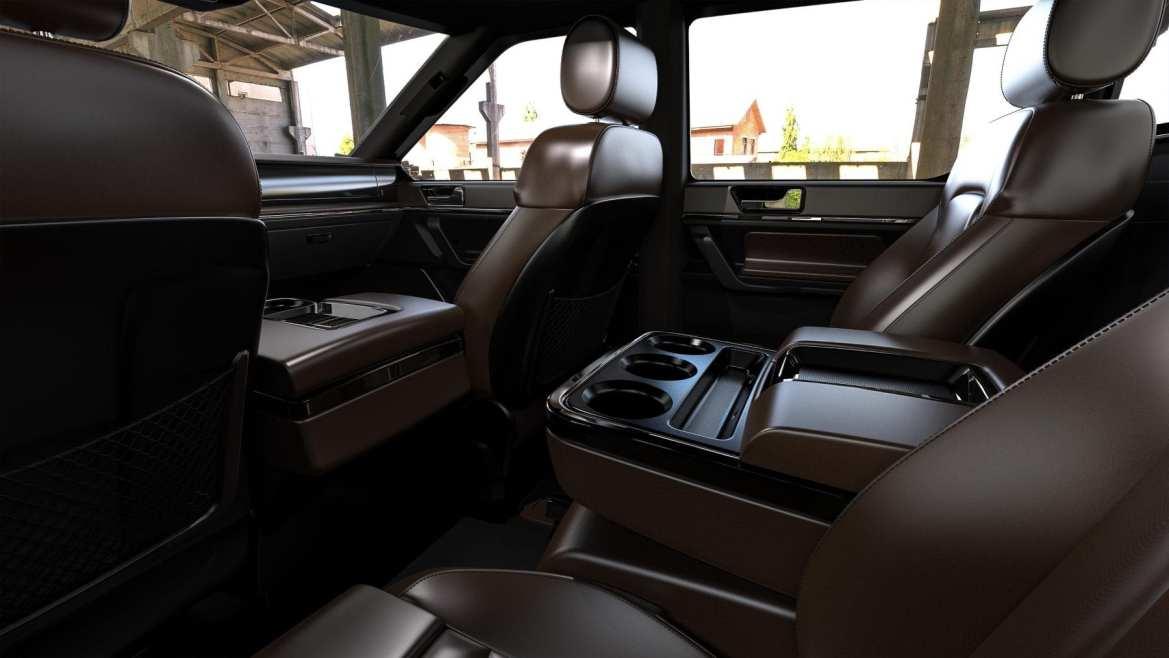 Atlis XT Back Seats