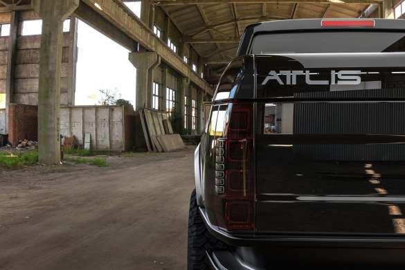 Atlis XT Taillights