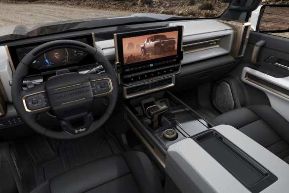 Hummer EV Truck Interior