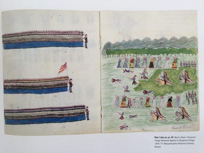 Bear's Heart Troops Amassed Against a Cheyenne Village (1876-77)