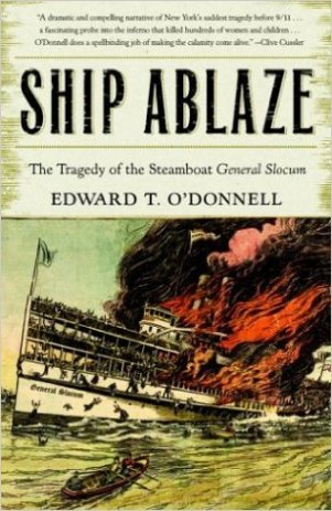 Ship Abalze by Edward T. O'Donnell.