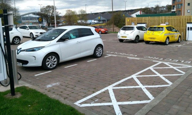 eVolt inseVolt installs rapid charging units for Dundee City Counciltalls rapid charging units for Dundee City Council