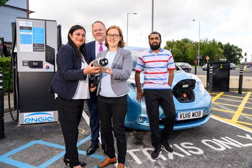 Multi-million Pound Scheme To Help Improve Air Quality Launches With The Largest Rapid-Charging Electric Vehicle Network in West Yorkshire