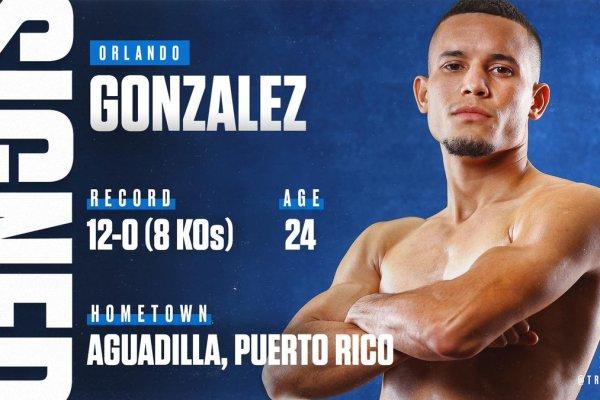 Orlando 'Zurdo de Oro' González (Top Rank)