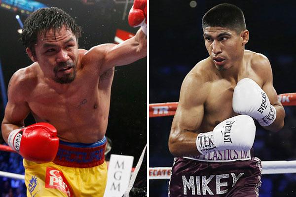 Manny Pacquiao & Mikey García (Foto Cortesía)